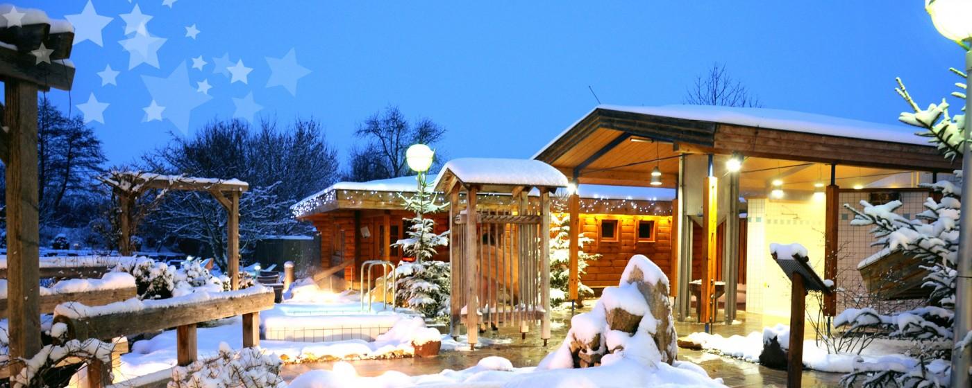 Thermalbad Bad Staffelstein weihnachten 2014 obermain therme bad staffelstein