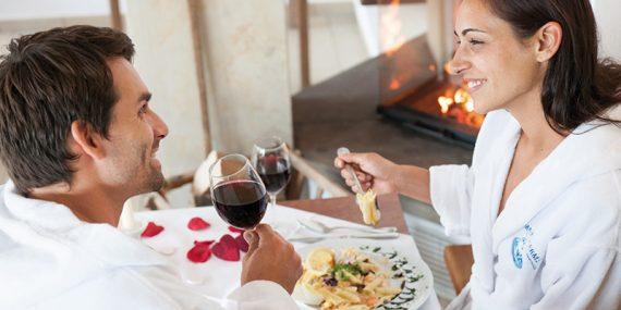 Valentinstags-Menü im VitaRestaurant